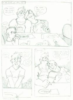 Gross comic xmas special